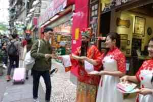 澳門 中式新年財神 宣傳推廣 廣告