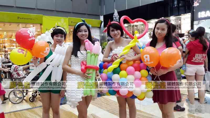 氣球佈置製作 5