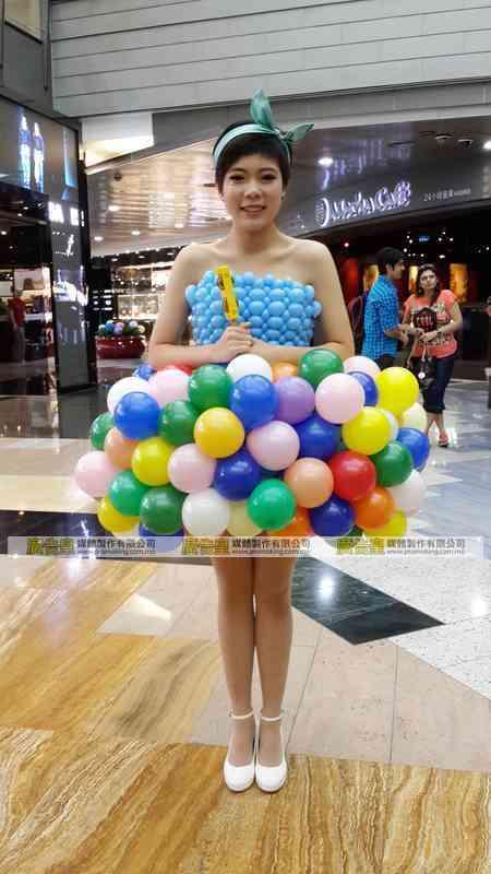 氣球佈置製作 9