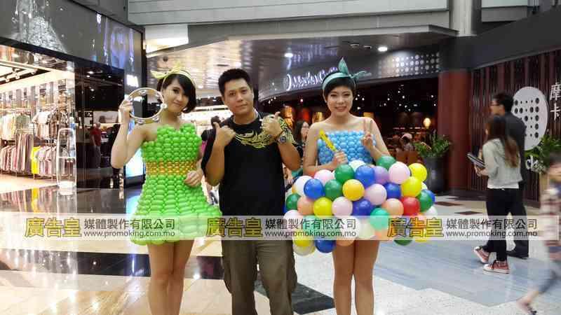 氣球佈置製作 15