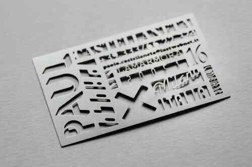 43張令人難以忘記的激光切割名片/卡片設計 51