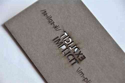 43張令人難以忘記的激光切割名片/卡片設計 61