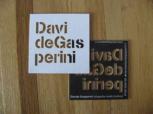 43張令人難以忘記的激光切割名片/卡片設計 29