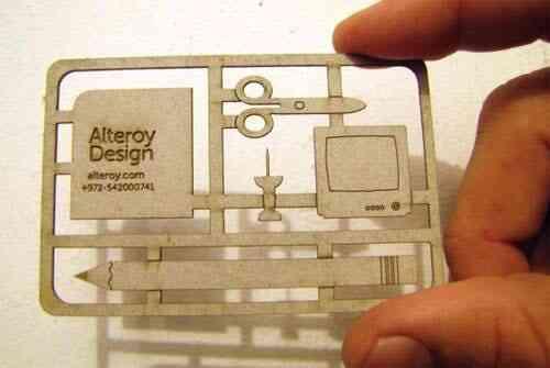 43張令人難以忘記的激光切割名片/卡片設計 79