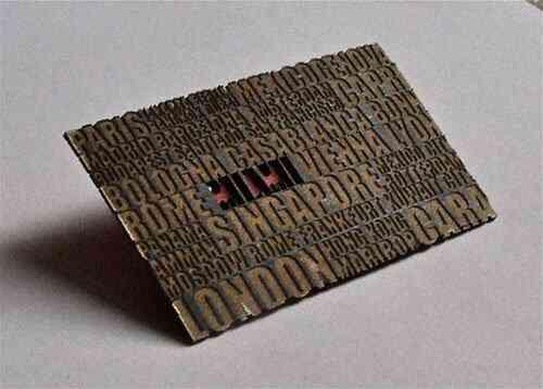 43張令人難以忘記的激光切割名片/卡片設計 5