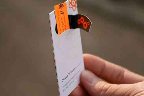 43張令人難以忘記的激光切割名片/卡片設計 21