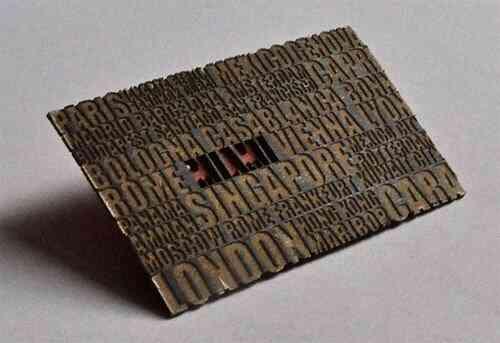 43張令人難以忘記的激光切割名片/卡片設計 39