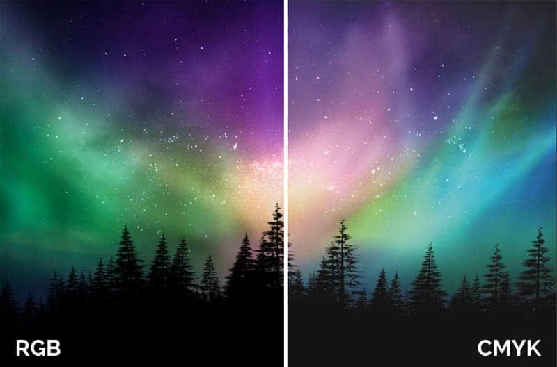 什麼是色差呢?很多人問為什麼印刷出來的顏色和在電腦熒光幕上看的顏色是不同??? 7